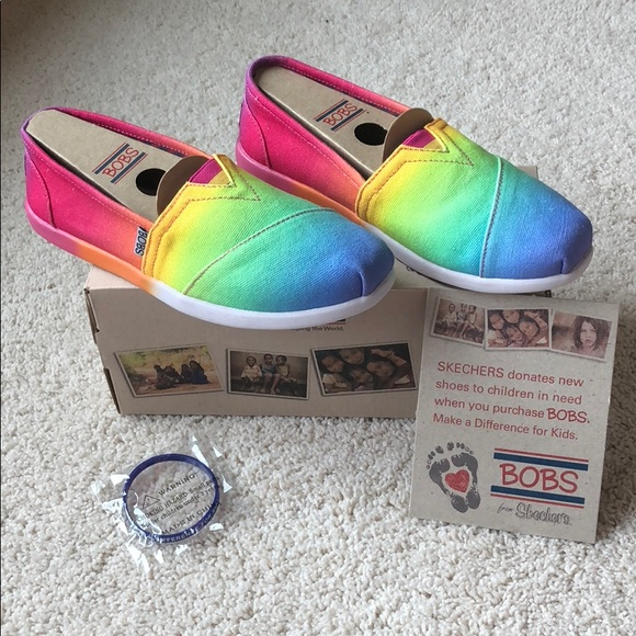 Bobs From Skechers Rainbow Shoes